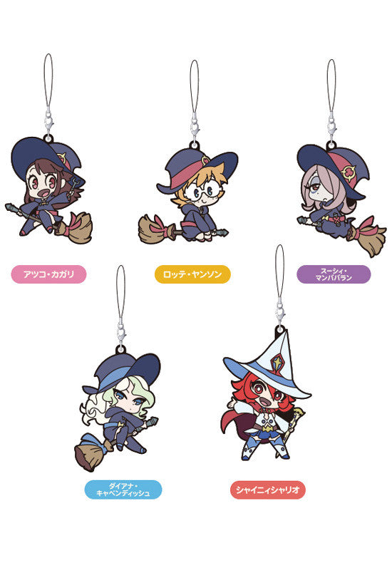 Little Witch Academia GOOD SMILE COMPANY Collectible Rubber Straps (Set of 5 Characters)