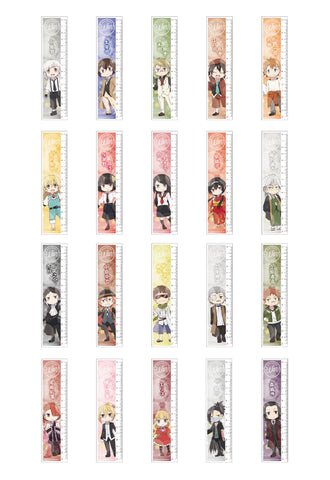 BUNGO STRAY DOGS WAN! HOBBY STOCK Ruler 20 kinds of sets