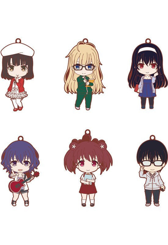 Saekano: How to Raise a Boring Girlfriend ♭ Nendoroid Plus Collectible Rubber Straps (Set of 6 Characters)