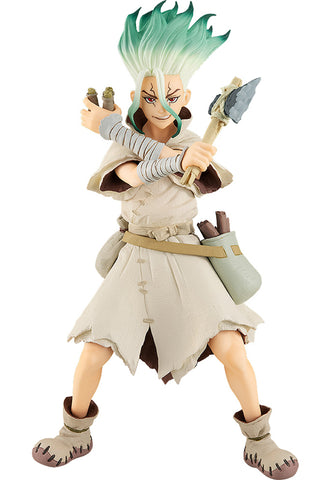 Dr. STONE Good Smile Company POP UP PARADE Senku Ishigami