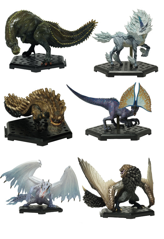 MONSTER HUNTER CAPCOM Capcom Figure Builder Monster Hunter Standard Model Plus Vol.12 (Set of 6 Characters)