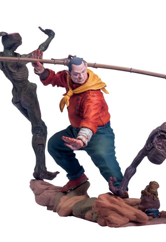 The SHAOLIN cowboy Union creative 15.75 inch length(40cm) Polystone  & Diecast Figure
