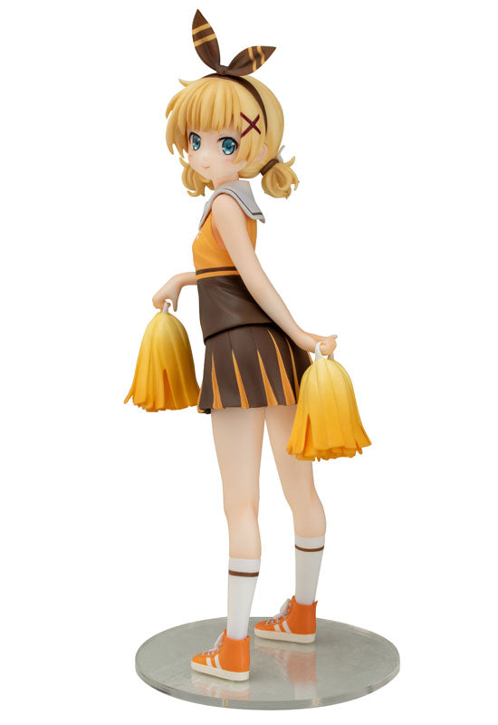 IS THE ORDER A RABBIT?? chara-ani Sharo Cheerleader Ver.