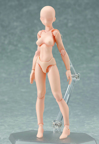 001♀ figma archetype Max Factory figma archetype: she flesh color ver.