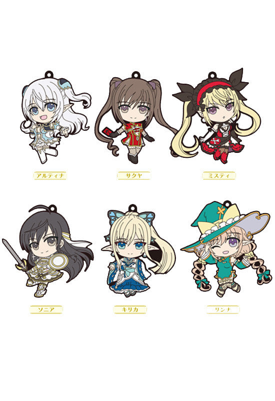 Shining Series FREEing Trading Rubber Straps (1 Random Blind Box)