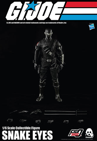 G.I. Joe Hasbro Threezero 1/6 Snake Eyes