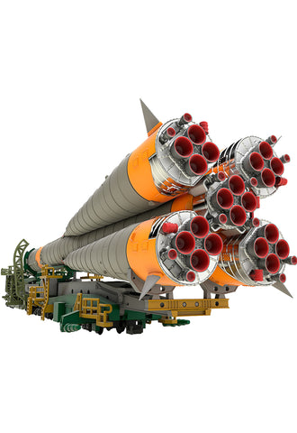Plastic Model GOOD SMILE COMPANY Soyuz Rocket & Transport Train