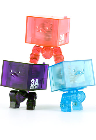 3AGO Clear Square R1 Set ThreeA Square Set
