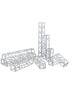 MODELING SUPPLY PLUM PLASTIC ACCESSORY01:TRUSS(SQUARE) CLEAR Ver.