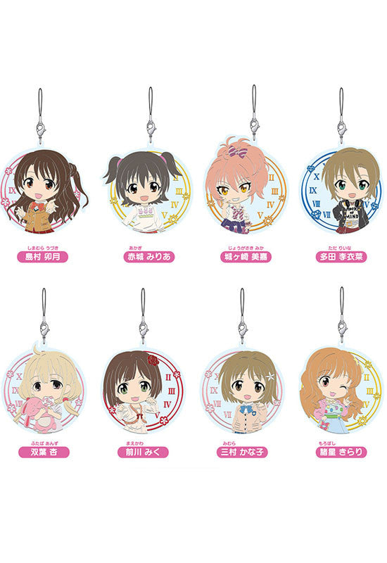 THE IDOLM@STER CINDERELLA GIRLS Nendoroid Plus: Collectable Rubber Straps vol.1 (1 Random Blind Box)