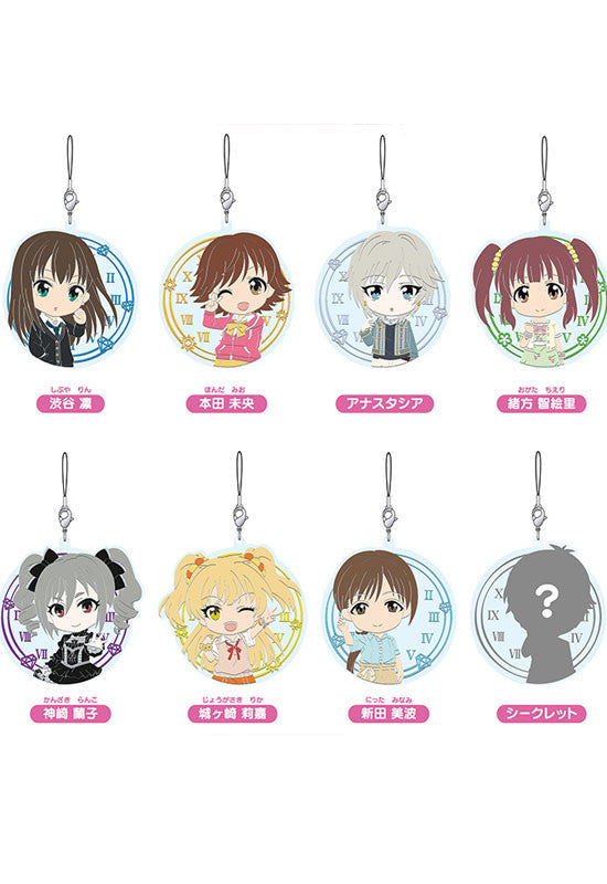 THE IDOLM@STER CINDERELLA GIRLS Nendoroid Plus: Collectable Rubber Straps vol.2 (Box Set of 8 Characters)