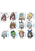 IS <Infinite Stratos> FREEing IS <Infinite Stratos> Trading Rubber Straps (Box set of 10 Characters)