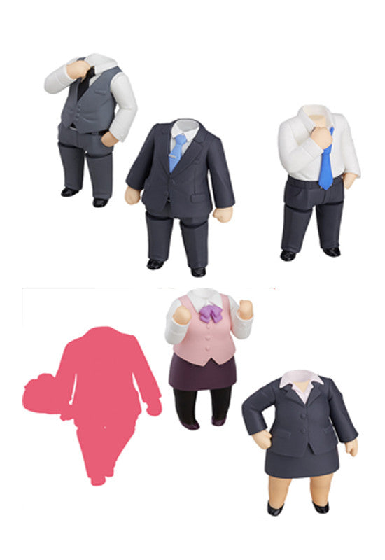 Nendoroid More Nendoroid More: Dress Up Suits (Box Set of 6 Characters)