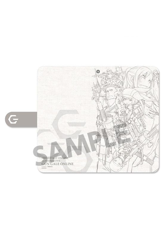 Sword Art Online Alternative Gun Gale Online HOBBY STOCK Cell Phone Wallet Case Teaser Visual (Size:L)