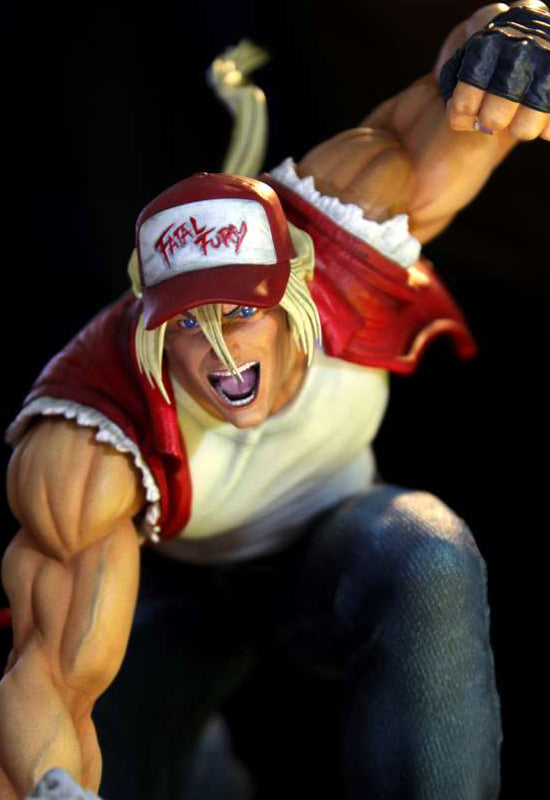 THE KING OF FIGHTERS KINETIQUETTES Terry Bogard – The Lone Wolf