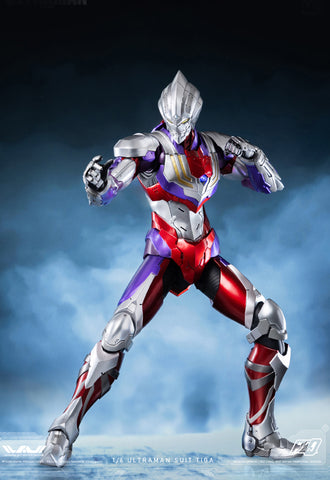 ULTRAMAN threezero FigZero 1/6 ULTRAMAN SUIT TIGA