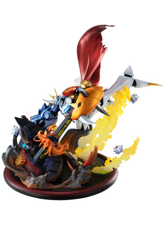 VS Series DIGIMON ADVENTURE CHILDREN'S WAR GAME! MEGAHOUSE Omegamon vs Diabolomon