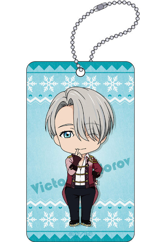 YURI!!! on ICE ORANGE ROUGE Nendoroid Plus: YURI!!! on ICE Acrylic Pass Case (Viktor Nikiforov)