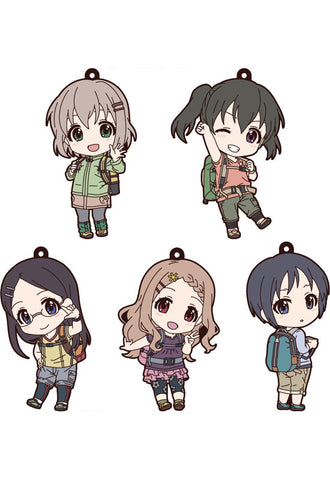 Encouragement of Climb Third Season GOOD SMILE COMPANY Encouragement of Climb Third Season: Nendoroid Plus Collectible Rubber Keychains (Set of 5 Characters)