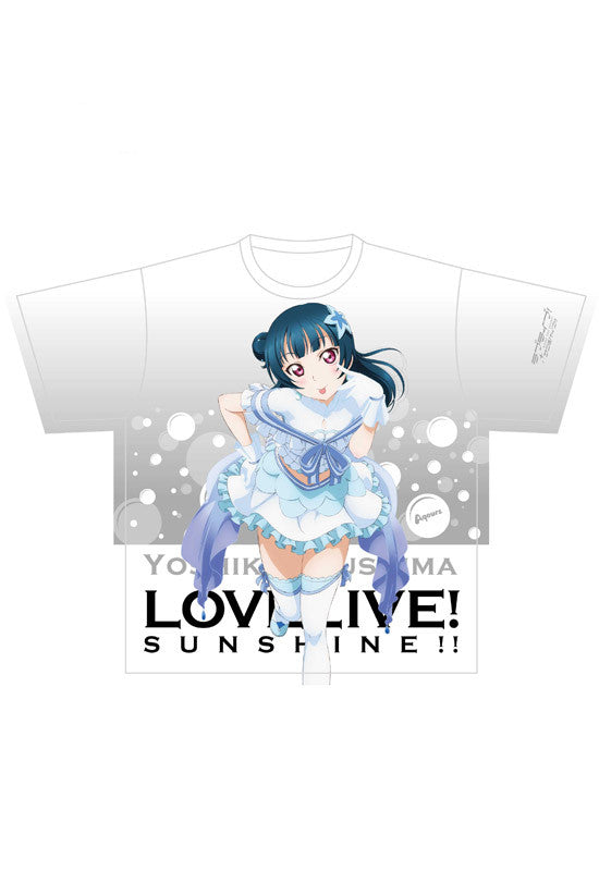 Love Live! Sunshine!! KADOKAWA Full Graphic T-shirt TSUSHIMA YOSHIKO