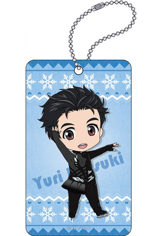 YURI!!! on ICE ORANGE ROUGE Nendoroid Plus: YURI!!! on ICE Acrylic Pass Case (Yuri Katsuki)