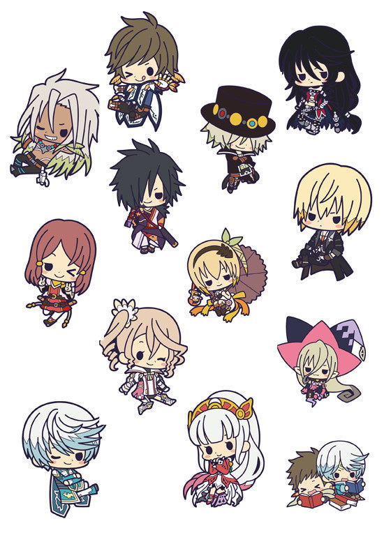 TALES OF ZESTIRIA KOTOBUKIYA TALES OF ZESTIRIA THE X RUBER CHARM (Random 10 Blind Boxes)