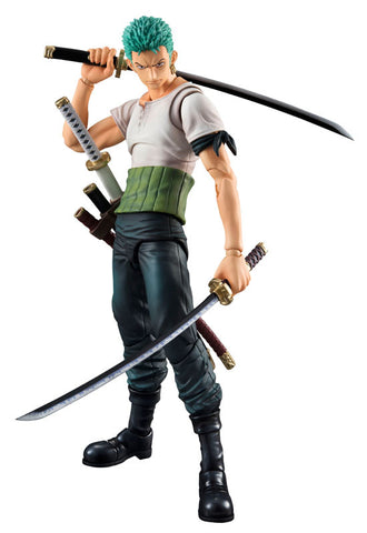 Variable Action Heroes One Piece Megahouse ZORO PAST BLUE