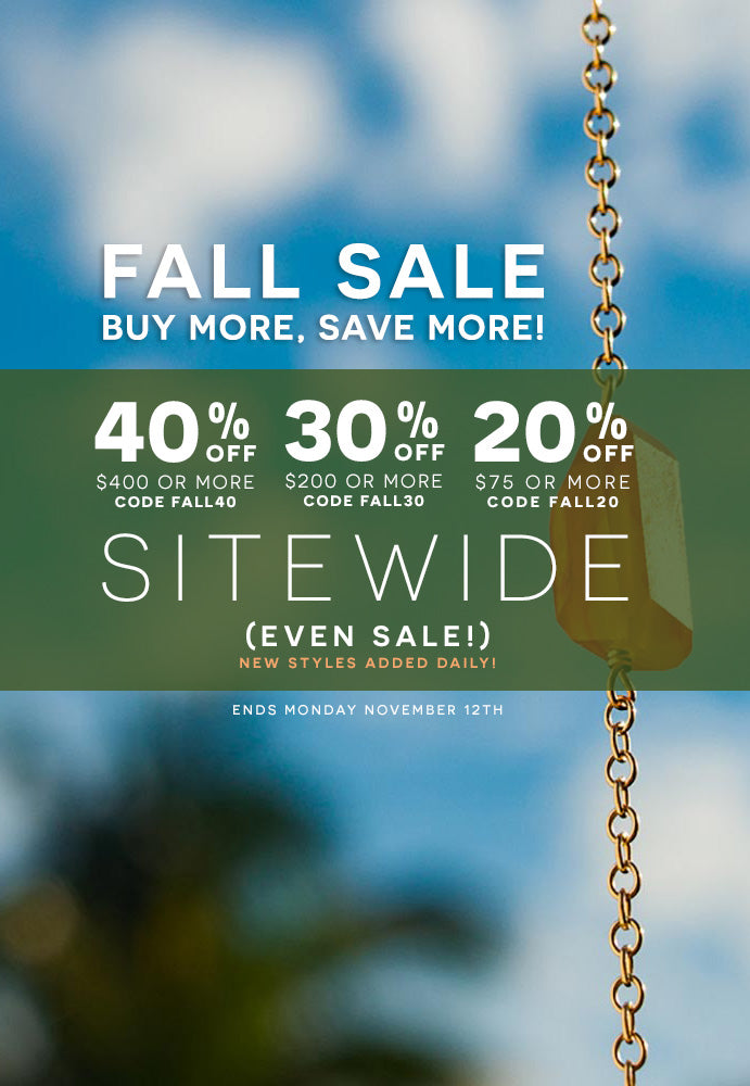 Fall Buy More Save More Sale 20-40% OFF Sitewide