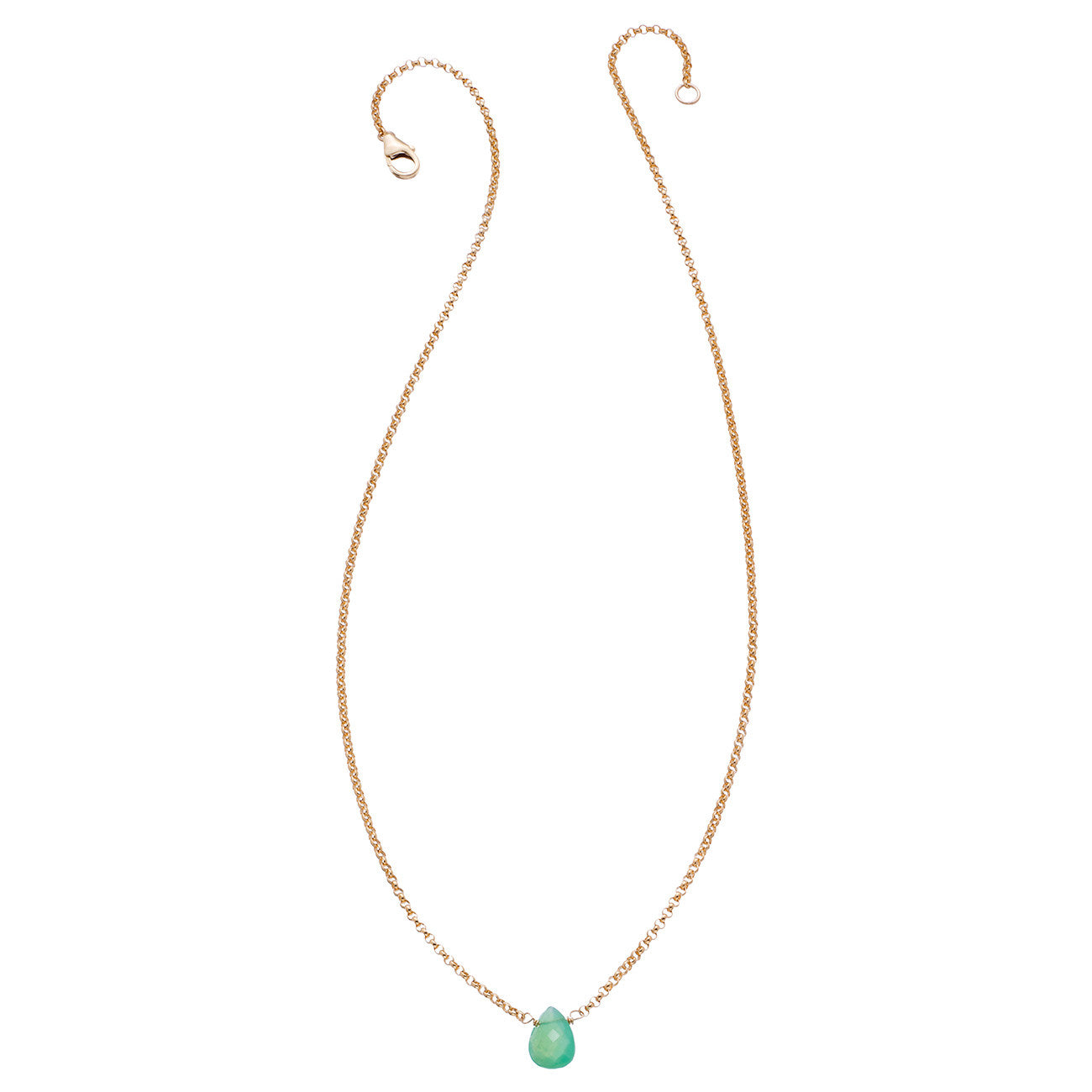 mint new products gemstone green necklace maymartininc