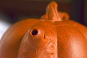 Pumpkin Design Yixing Teapot