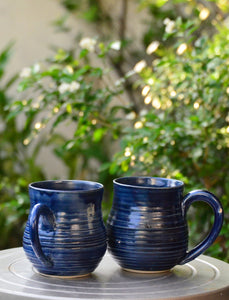 New! Oryoqi® Handmade Pottery Tea Mugs Duo