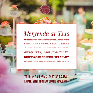 Meryenda at Tsaa: Afternoon Tea with a Pinoy Twist