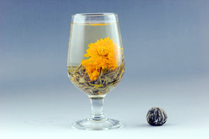 Marigold Flying Blooming Tea