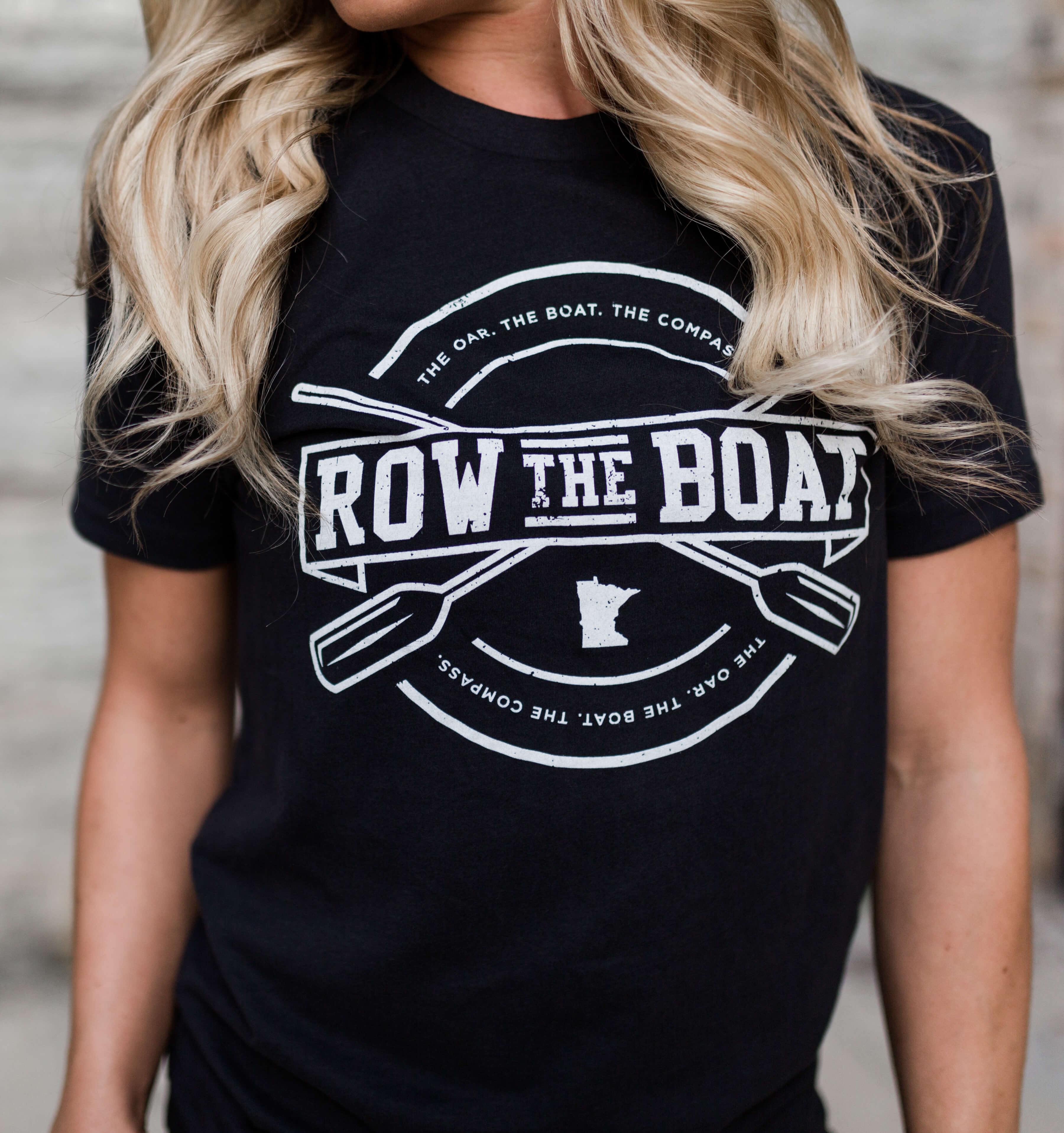 Row The Boat Graphic Tee