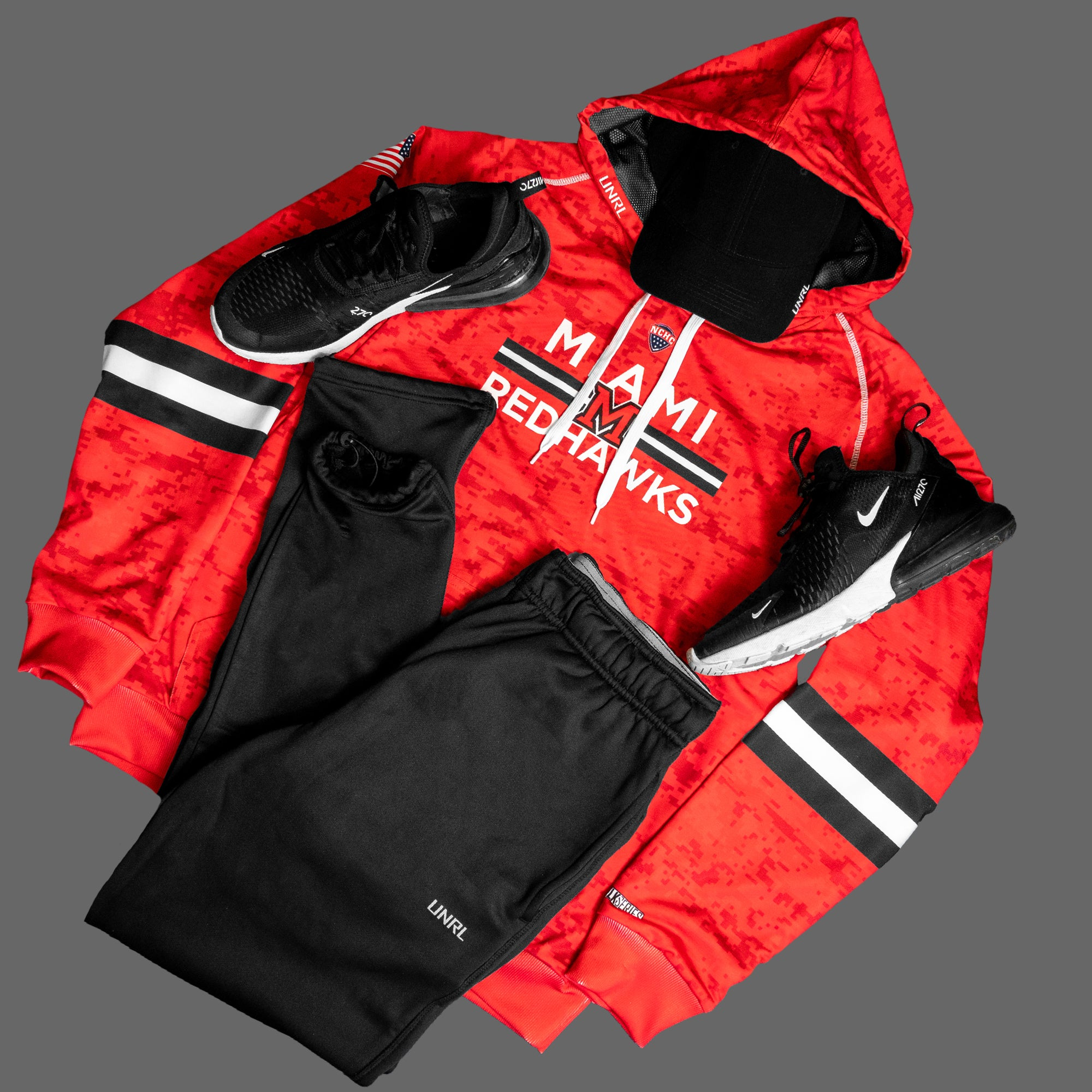 MU Redhawks SilkSeries Hoodie [Digital Red]