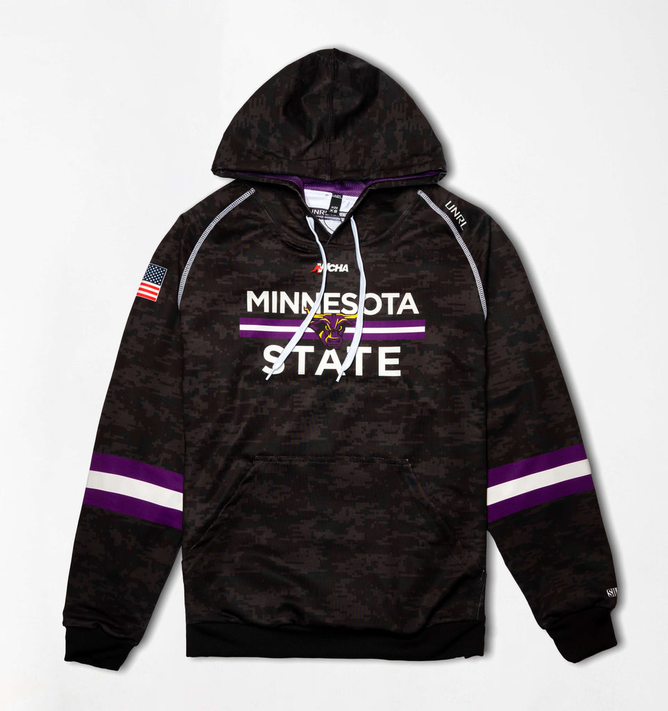 MNSU Mavericks SilkSeries Hoodie [Digital Black]