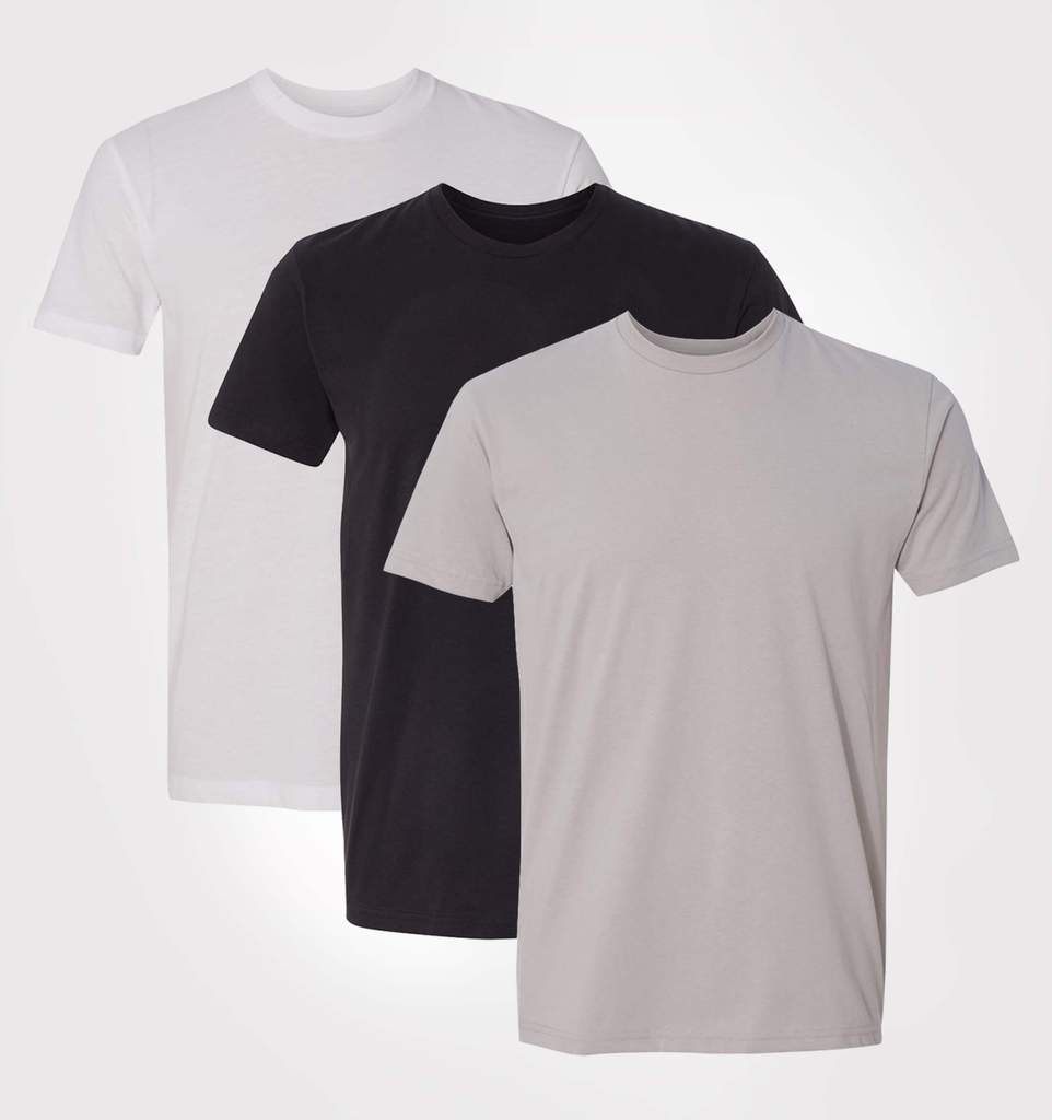 Sueded Tee 3-Pack
