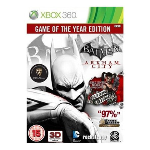 BATMAN ARKHAM CITY GOTY XBOX 360