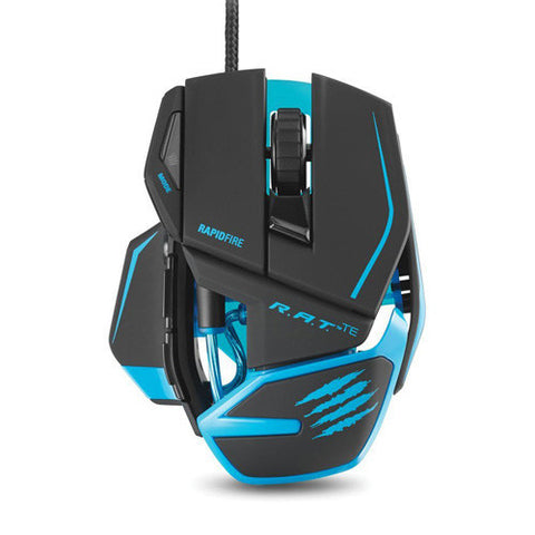 R.A.T TOURNAMENT ED MOUSE WITH GOLD-PLATED USB CONNECTOR MATTE BLACK