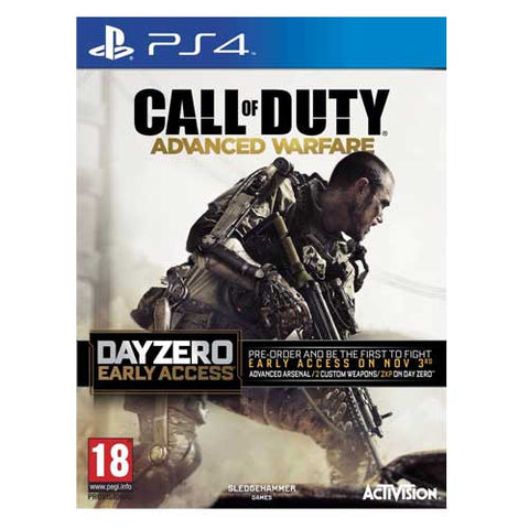 CALL OF DUTY ADVANCED WARFARE - DAY ZERO PS4