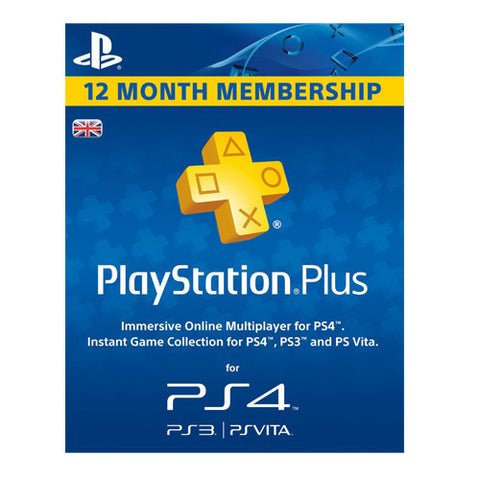 PLAYSTATION PLUS 365 DAYS (PS4 BOX)
