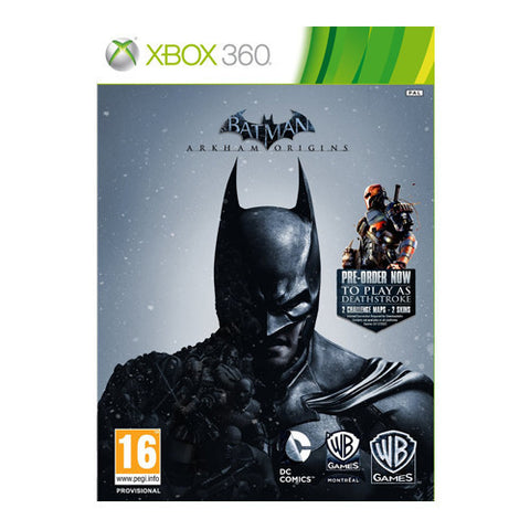 BATMAN ARKHAM ORIGINS LEGEND XBOX 360