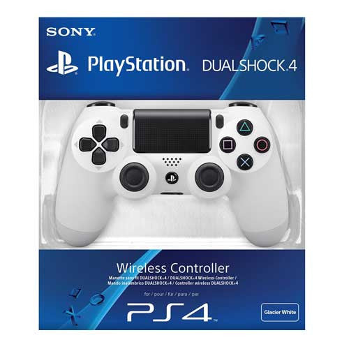 PS4 DUAL SHOCK WAVE WHITE
