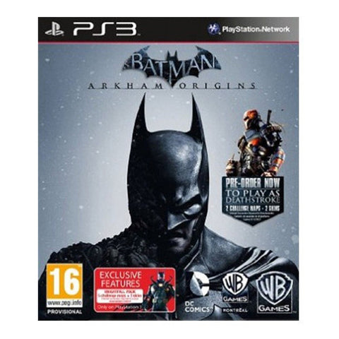 BATMAN ARKHAM ORIGINS LEGEND PS3