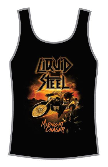 Liquid Steel - 2017 Midnight Chaser T-Shirt Girlie