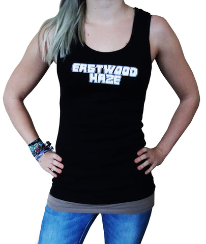 "Eastwood Haze - ""Logo Print"" Girlie Tank-Top"