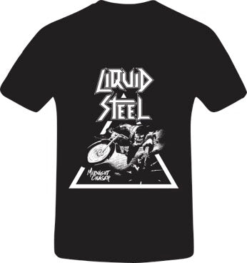 Liquid Steel - 2018 Midnight Chaser T-Shirt Male