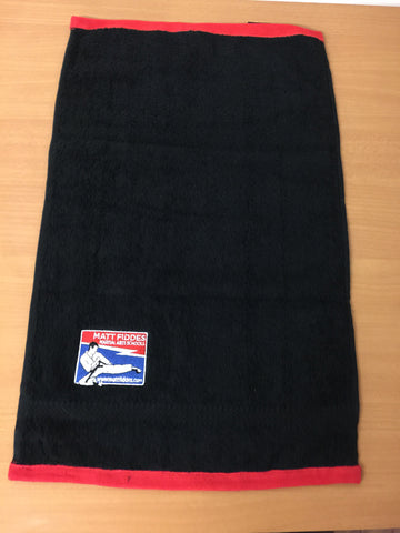 MF SWEAT TOWEL (Black/Red or White)