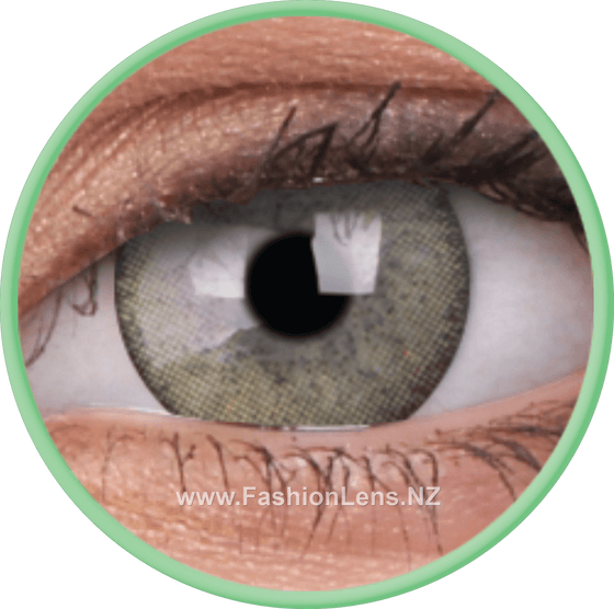 3 Tones Mint ColourVue Contact Lenses