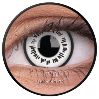 Crazy Byakugan ColourVue Contact Lenses. Fashion Lens NZ.